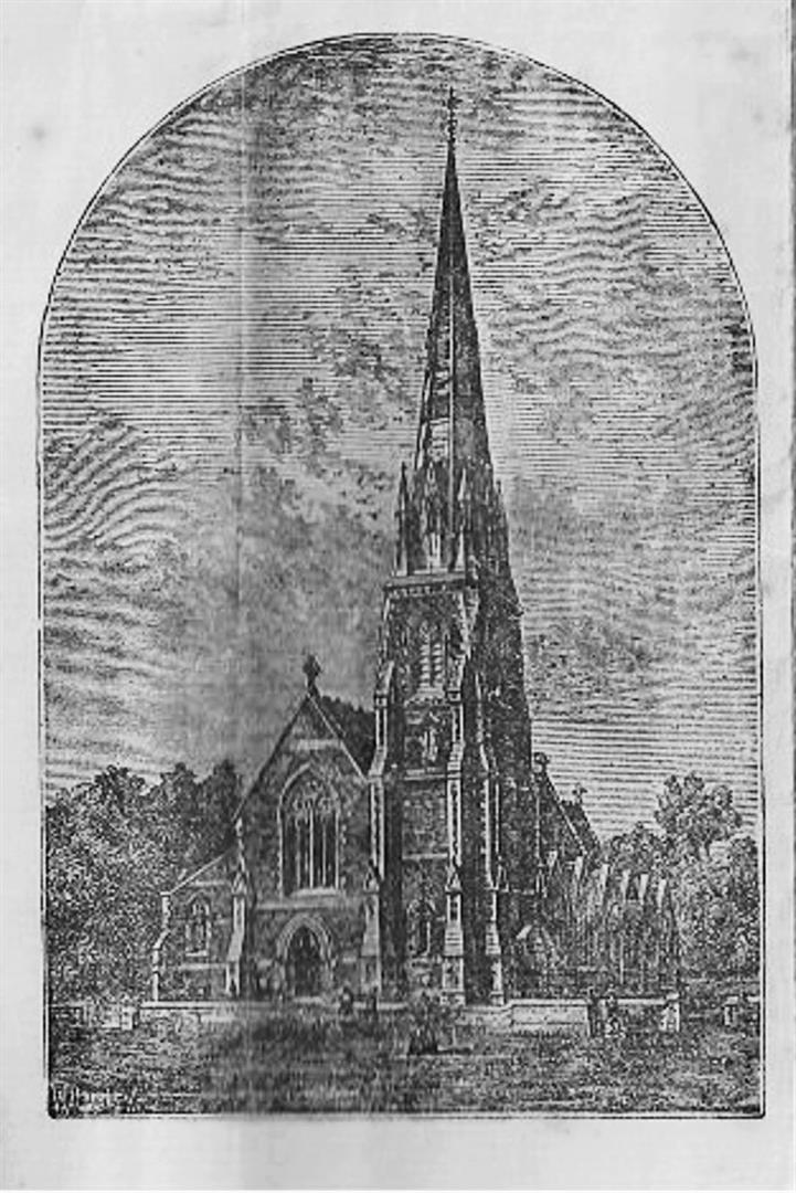 ChristChurch lithograph (Large